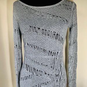 AX Armani Exchange Sweater Gray Size S